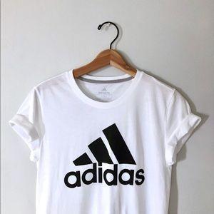 NWOT Adidas graphic logo tee